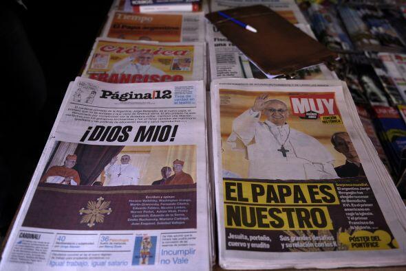 Al día siguiente de su elección, la prensa estalló en Latinoamérica.