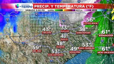 Cielos nublados y lluvias ligeras se esperan el miércoles en Houston