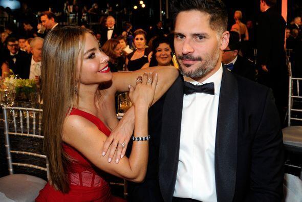 Sofía y Joe disfrutando de la ceremonia.