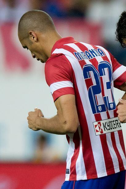 Miranda (8): La firmeza defensiva es una virtud del Atlético y del centr...