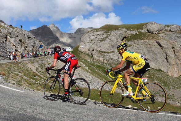 """Voeckler no ha soltado el maillot amarillo desde la novena etapa de la """"..."""