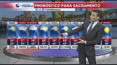 Vientos ligeros y bajas temperaturas al norte de California
