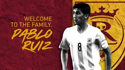 Real Salt Lake se refuerza con el argentino Pablo Ruiz procedente del fútbol chileno