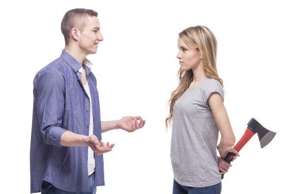 Si el celoso extremo llega a percibir un perfume diferente en el otro, p...