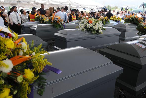 Los 72 ejecutados, 58 hombres y 14 mujeres, fueron en su mayoría inmigra...