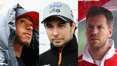 Los 'cara a cara' de los pilotos de la Fórmula 1 previo al Gran Premio de Shanghai