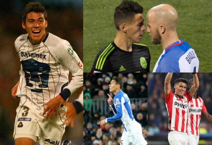 Héctor Moreno: 'puma', 'granjero', 'lobo' y ahora 'txuri-urdines' Moreno...