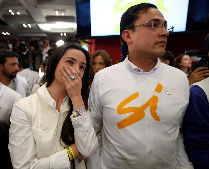 Seguidores del 'Sí' en Colombia lamentan el triunfo del 'No&...