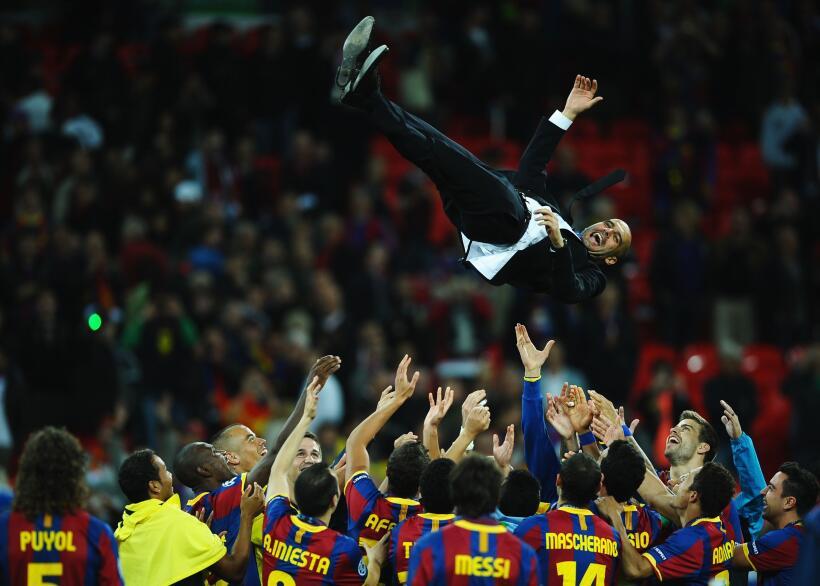 Los 'mandamientos' de Pep Guardiola con el Manchester City champions-201...