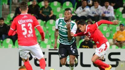 Santos Laguna empató 2-2 con Zacatecas.
