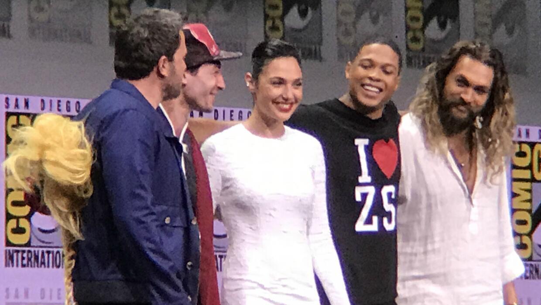 Presentación de la Liga de la Justicia en Comic Con