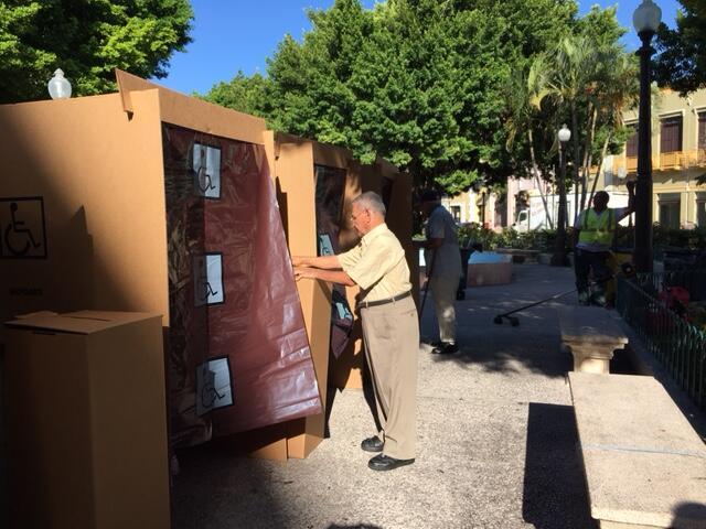 En total, se realizaron tres votaciones: alcaldía de San Juan, al...