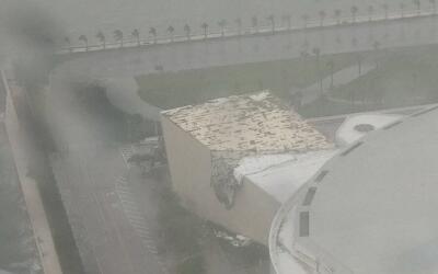 La casa del Miami Heat sufre por Irma