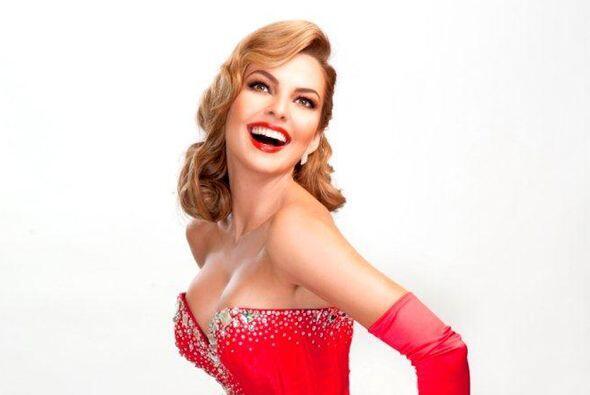 La actriz venezolana tomó gran popularidad desde que se convirtió en la...