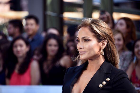 Jennifer Lopez es otra mamita nominada a la que le echamos muchas flores...