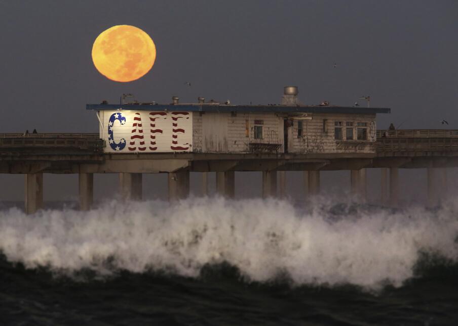 Superluna en California