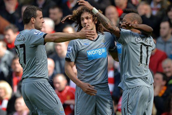 Y los 'Magpies' fueron los primeros en marcar, con un poco de fortuna, p...