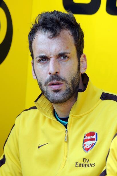 Los 'Gunners' sufrieron la lesión del arquero Manuel Almunia mientras ca...