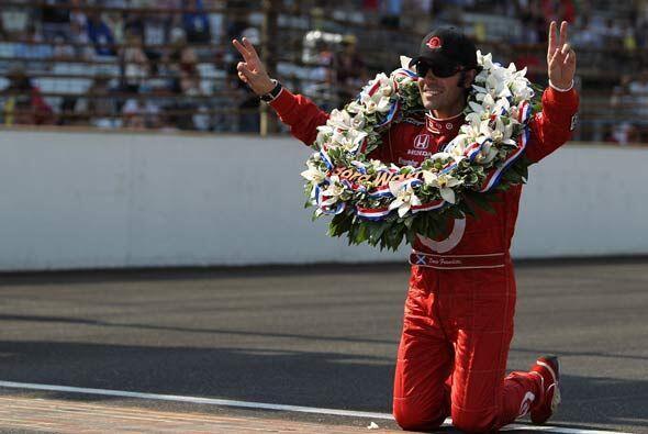 Franchitti entró al selecto grupo de pilotos con más de una victoria en...