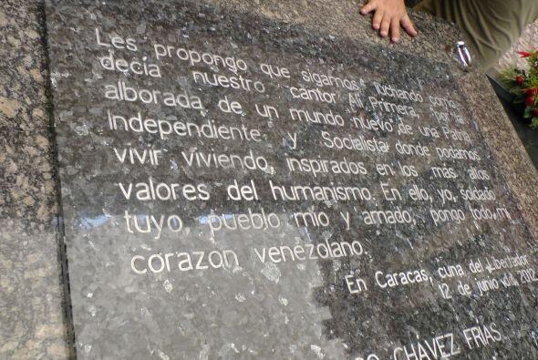 Otro mensaje para los soldados venezolanos: Les propongo que sigamos luc...