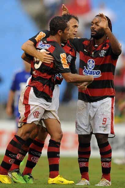 Flamengo llegó a estar arriba del marcador con goles de Michael y Leo Mo...