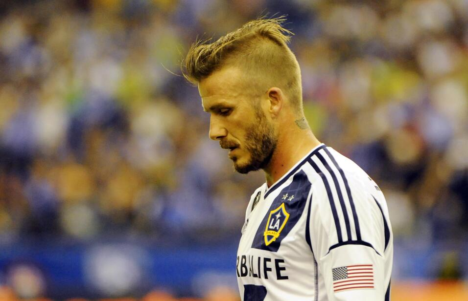 Los looks de Beckham en la MLS