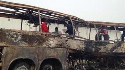 El choque de un autobús en Veracruz deja al menos 36 muertos