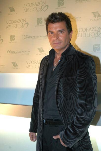 Sergio Basañez era su galán. La pareja adulta gustó mucho.