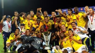 Por tercera vez en su historia Colombia se coronó campeón de un torneo s...