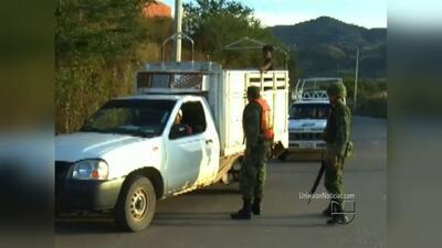 Residentes de municipio en México se organizaron para hacer frente a la...