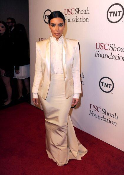 ¿Será que la Kardashian optará por un estilo similar para su boda?