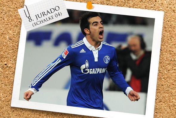 Volviendo a la Bundesliga teutona, aparece el español José Manuel Jurado...