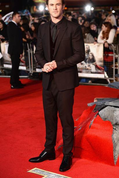 Chris Hemsworth siempre nos impresiona, no sólo con su bello rost...