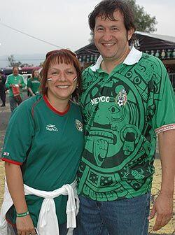 El partido México vs. Trinidad y Tobago, también fue un buen pretexto pa...