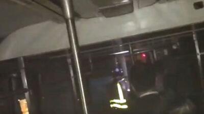 Un tren se descarriló en la mañana de este martes en Manhattan. Tres per...