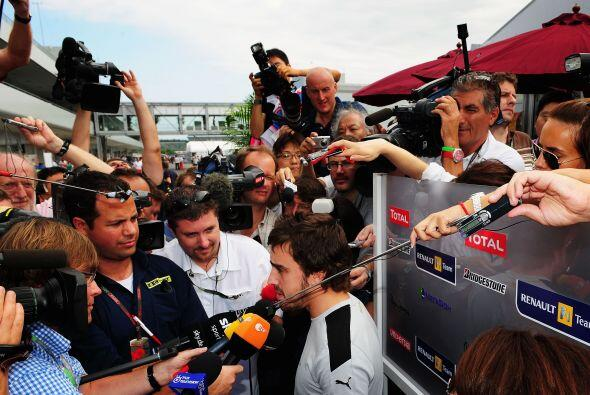 Pero llegarían mejores tiempos para Alonso cuando por fin el 30 de septi...