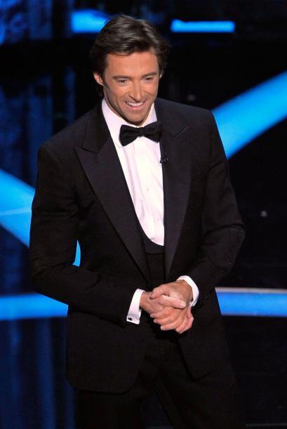 """Hugh Jackman llegó a engalanar el escenario del """"scar en el 2009. Aquí d..."""