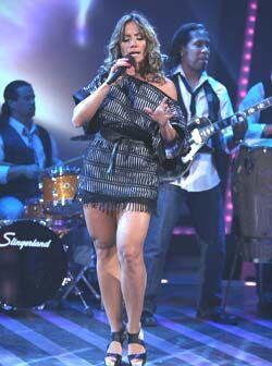 La cantante, quien luce cuerpazo, está felizmente casada desde hace dos...