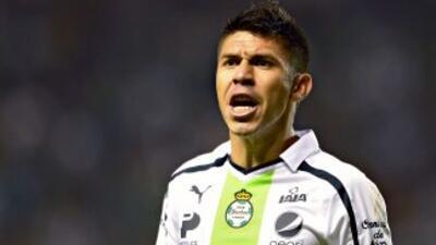 Oribe Peralta entró en la lista de los 20 mejores goleadores del 2013.