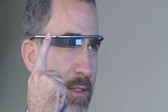 Probaron los lentes de Google con los que se puede acceder a datos, hace...