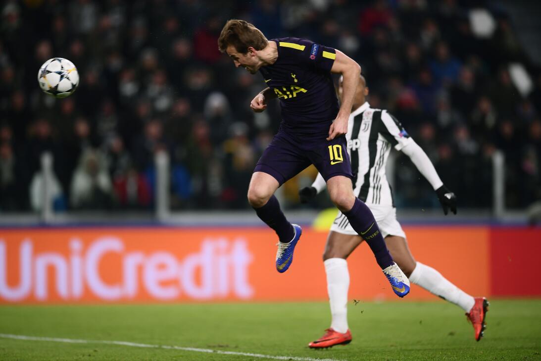 Juventus empata con Tottenham en la ida de octavos en Champions League 2...