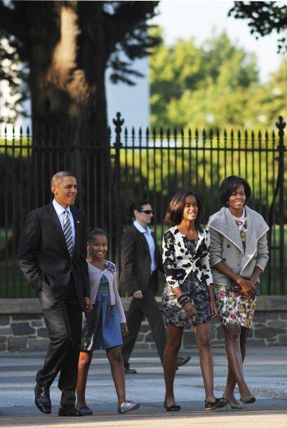 Obama, que se confiesa cristiano pero ha evitado hacer alarde de su fe e...