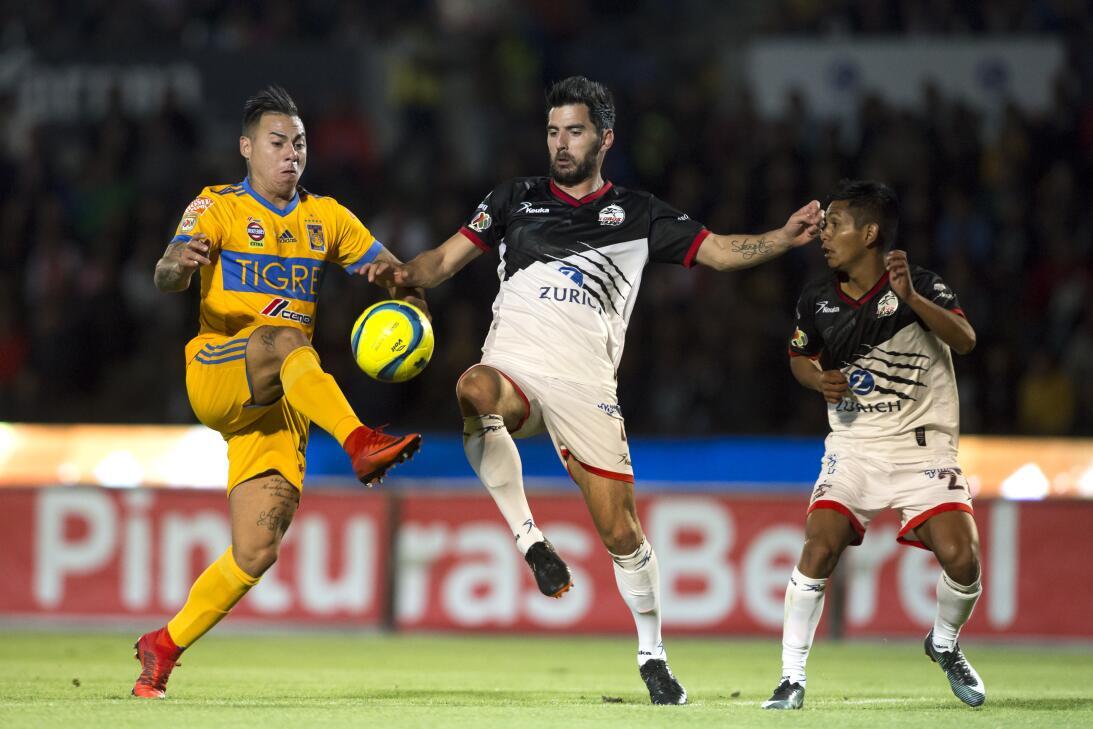 En fotos: Lobos BUAP amedentró a Tigres pero no supo rematarlos 20180213...