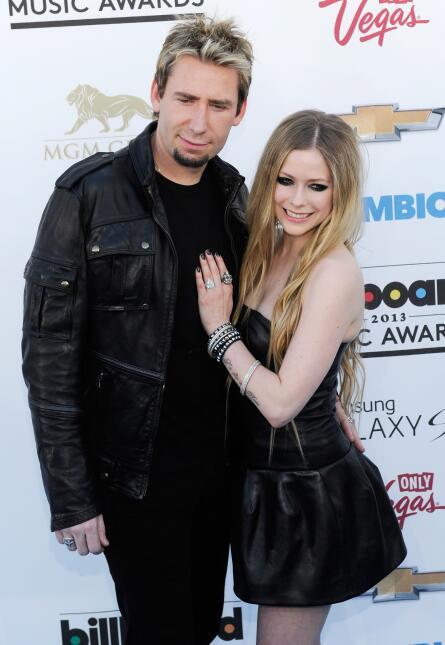 Avril y Chad