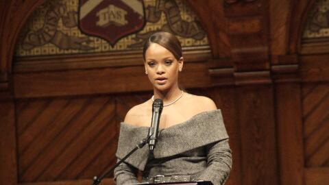 Rihanna en Harvard