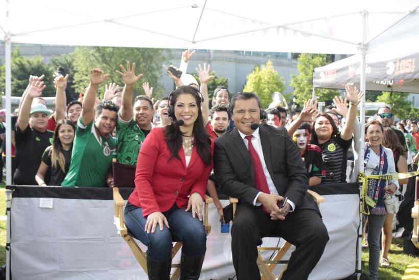 Univision Chicago en el Soldier Field