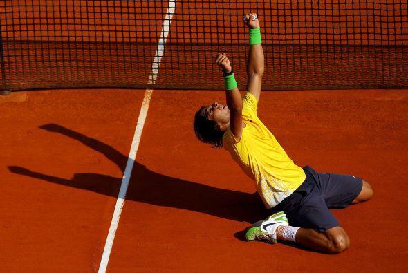 """""""Rafa"""" rompió su propio récord y llegó a 19 títulos en torneos Masters 1..."""