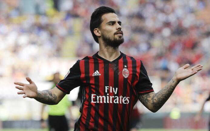 El español Suso saldría del Milan para jugar en la Premier League con el...