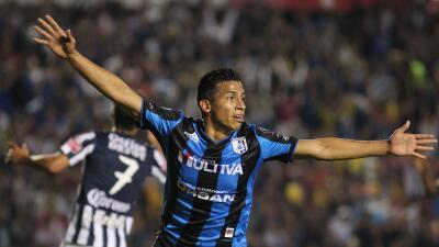Ángel Sepúlveda fue ua de las figuras del partido ante Pachuca.