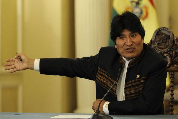 MAYO DE 2010- En un mandato del presidente Evo Morales, se determina exp...